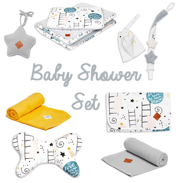 Baby Shower Set - Love to the Moon