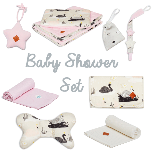 Baby Shower Set - Swan Princess