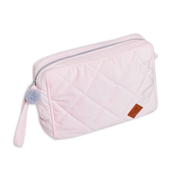 Toiletry Bag - Velvet - Pink