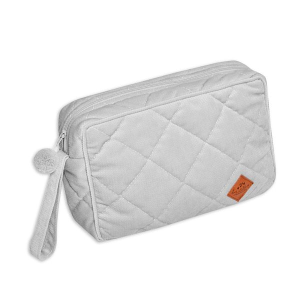 Toiletry Bag - Velvet - Grey