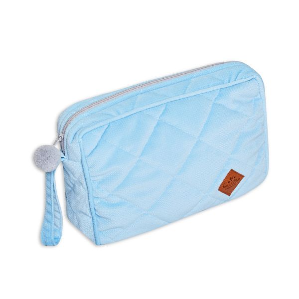 Toiletry Bag - Velvet - Blue