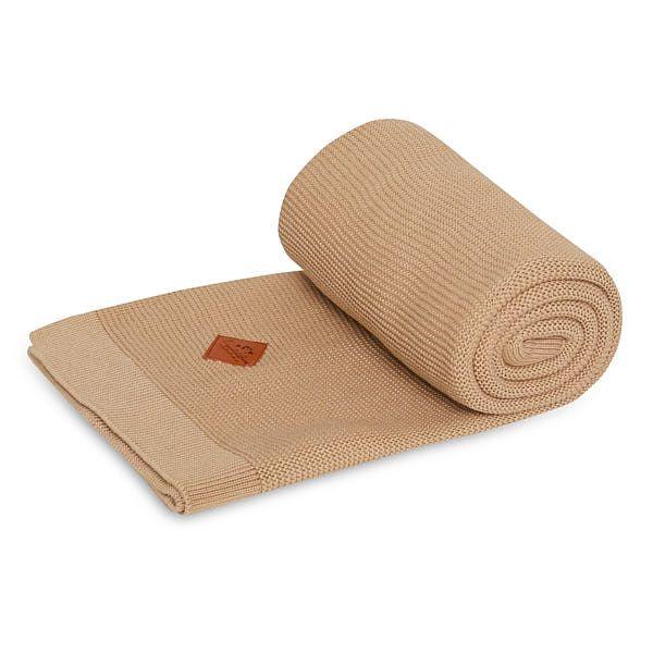 Couverture tricotée - Natual Beige