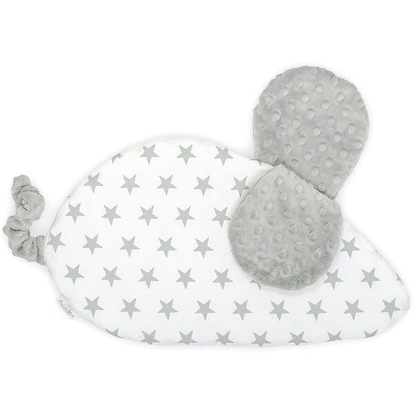 Pillow Mouse - Bright Grey
