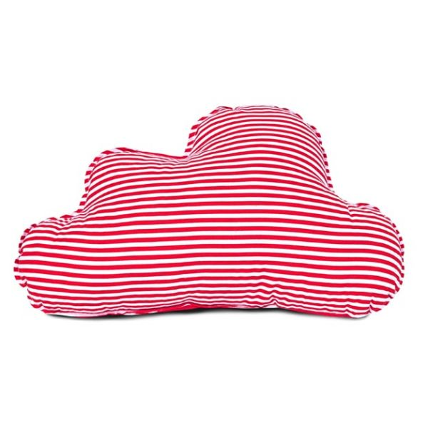 Poduszka - Cloud Stripes red