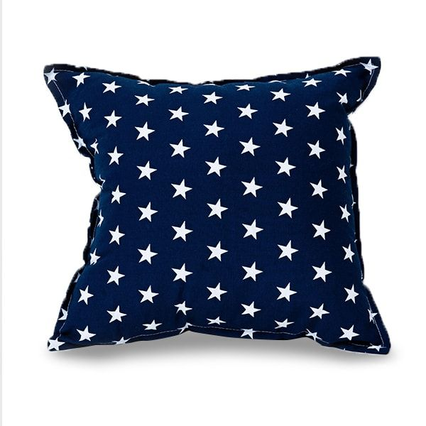 Poduszka - Square Little Stars navy