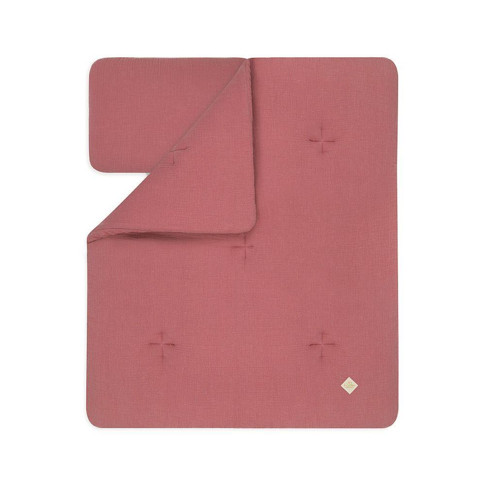 Kołderka + Poduszka Starszaka - Pink