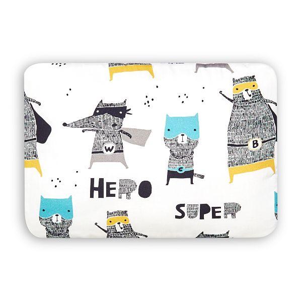 Junior Bed Pillow L - Super Hero