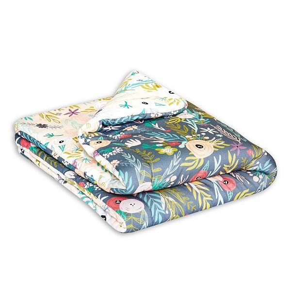 Baby Quilt S - Floral Blooming