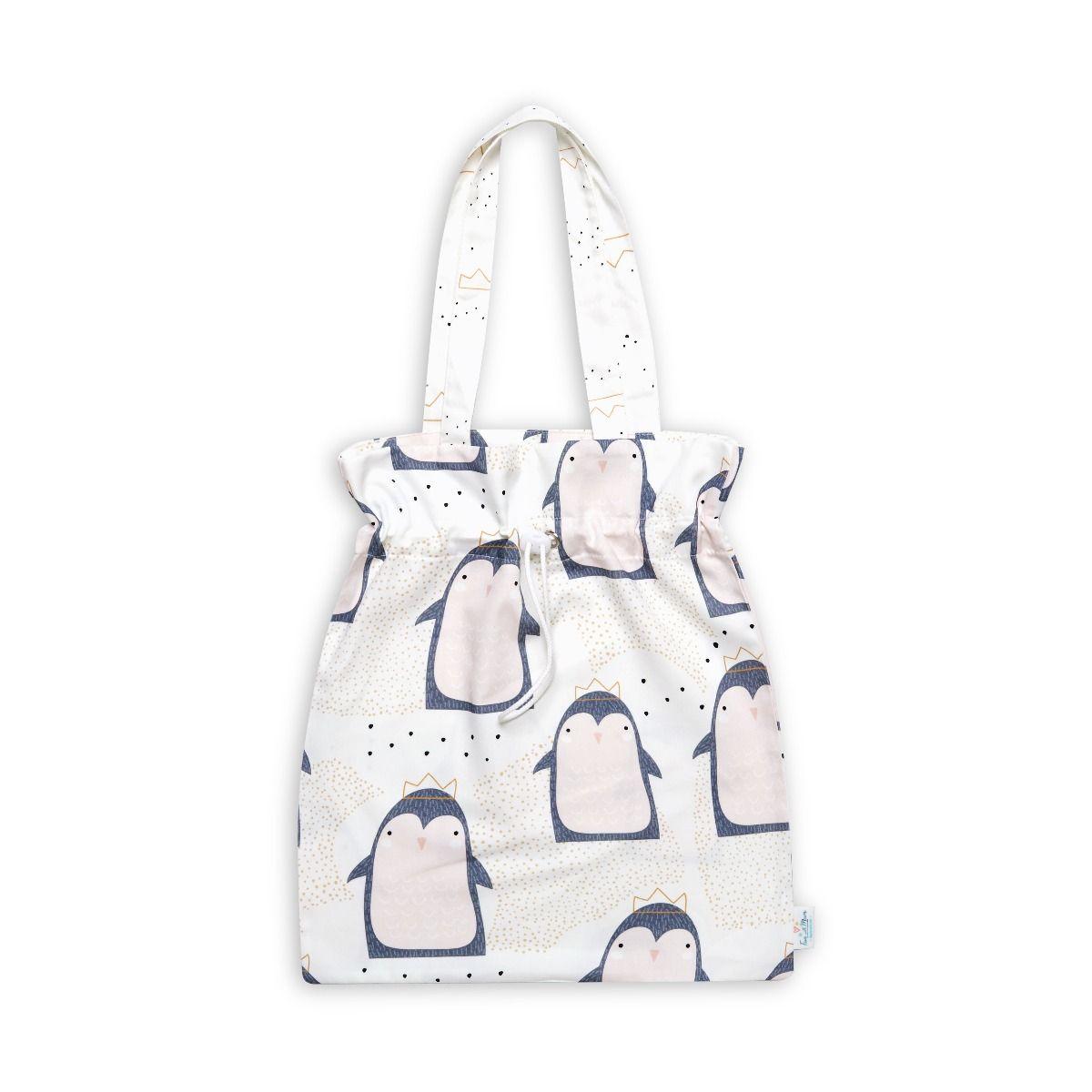 Drawstring Bag - Lovely Pinguin