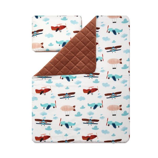 Junior Blanket Set L - Airplane