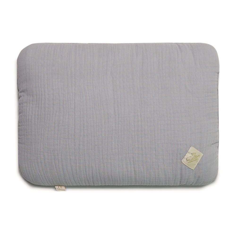 Junior Bed Pillow L - Grey