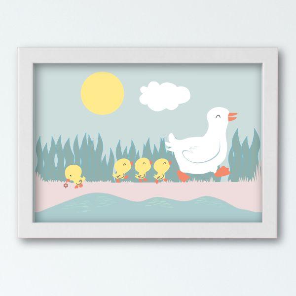 Historyjki Obrazkowe - Ducks White