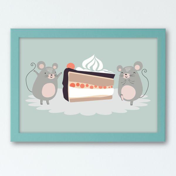 Illustierten Kindergeschichten - Mice Mint