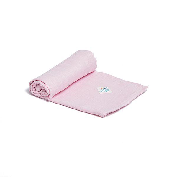 Pieluszka Bambusowa - Pink