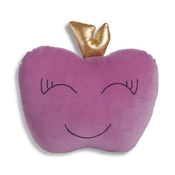 Poduszka Jabłko - Lilac