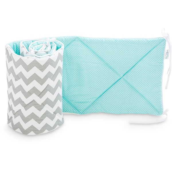 Baby Bed Bumper 70x140 - Magic Turquoise