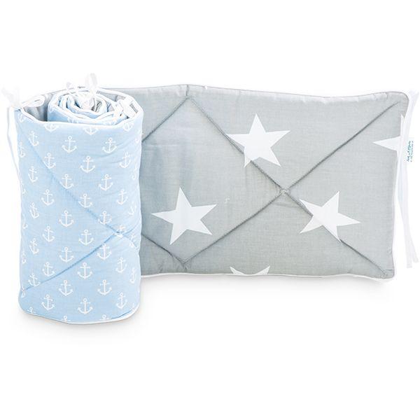 Baby Bed Bumper 70x140 - Sea Breeze