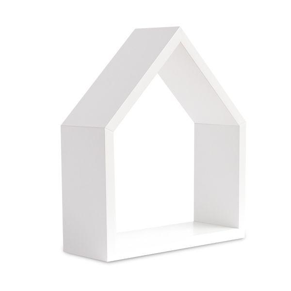 Półka Domek - White Small