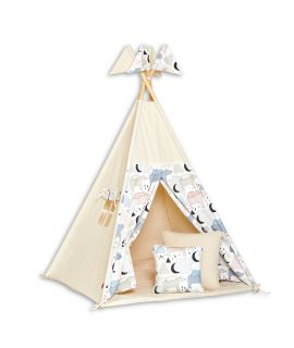 Tenda Tipi + Tappatino + Cuscini - Bear Family