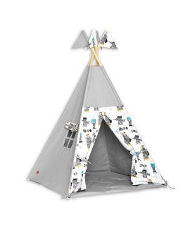 Teepee Tent + Floor Mat - Super Hero