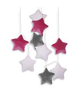 Girlanda - Velvet Dreamy Stars