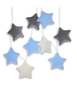 Girlanda - Velvet Blue Stars
