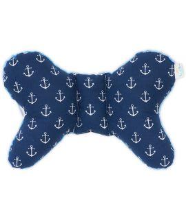 Poduszka Turystyczna Motyl - Navy Sailor