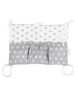Organizer łóżeczkowy - Grey Little Star