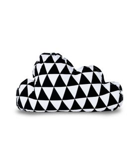 Poduszka - Cloud Triangles black