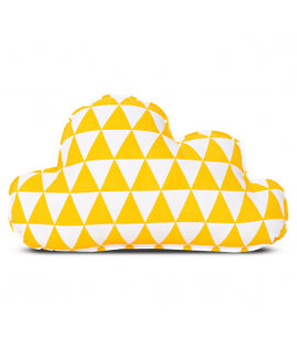 Poduszka - Cloud Triangle yellow