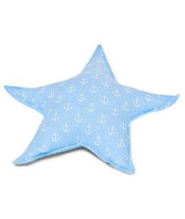 Pillow - Star Treble blue