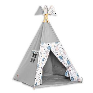 Teepee Tent + Floor Mat - Love to the Moon