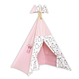 Teepee Tent - Lovely Pinguin