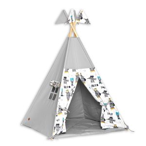 Teepee Tent + Floor Mat - Super Hero