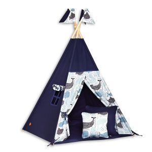 Teepee Tent + Floor Mat + Pillows - Sea Adventure