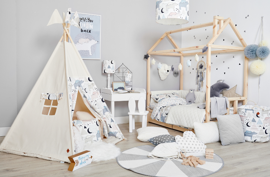 Teepee tent as a perfect gift