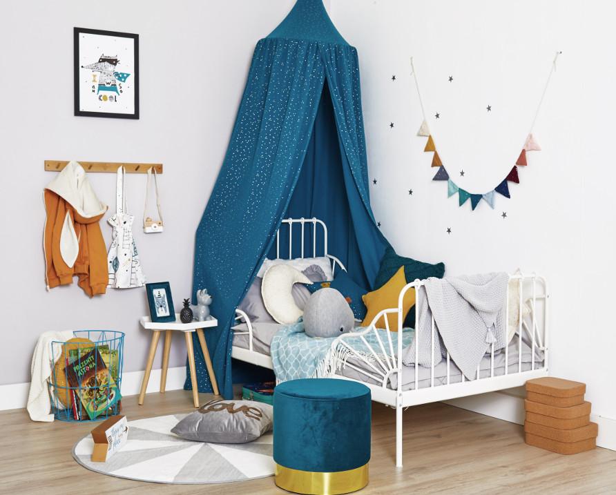 Stylowy baldachim do pokoju dziecięcego