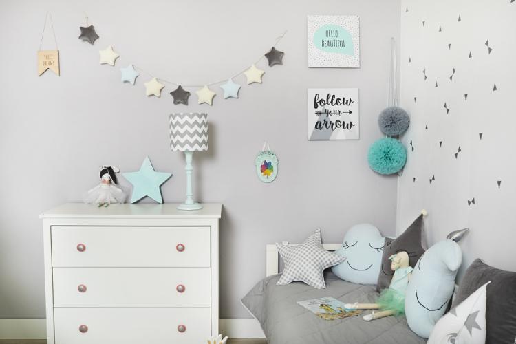 Ściany w pokoju dziecka - jak je ozdobić?