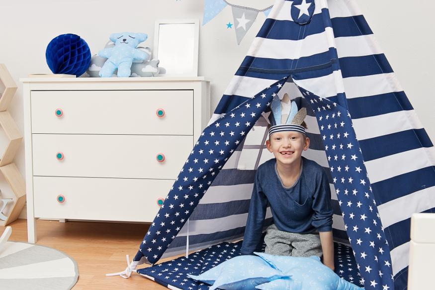 Tipi-Zelt für einen Jungen