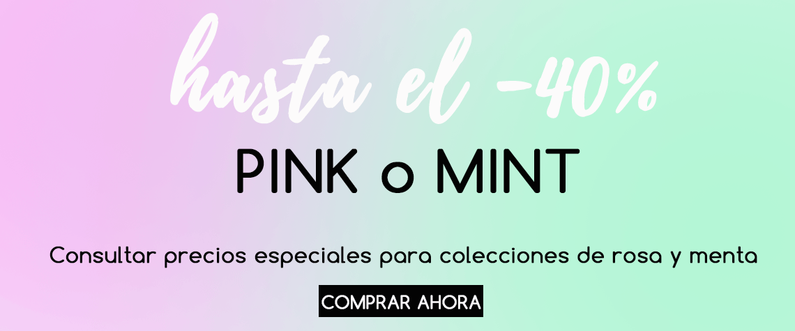 pink or mint